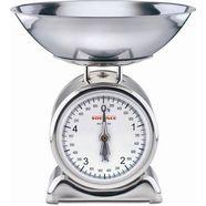 soehnle keukenweegschaal met weegplateau van edelstaal, »silvia« zilver