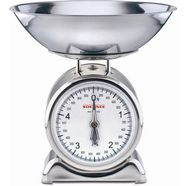 soehnle keukenweegschaal silvia met weegplateau van edelstaal (2-delig) zilver