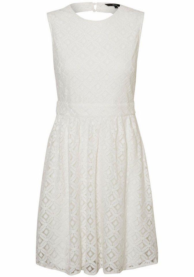 Vero Moda kanten jurk SIMONE wit