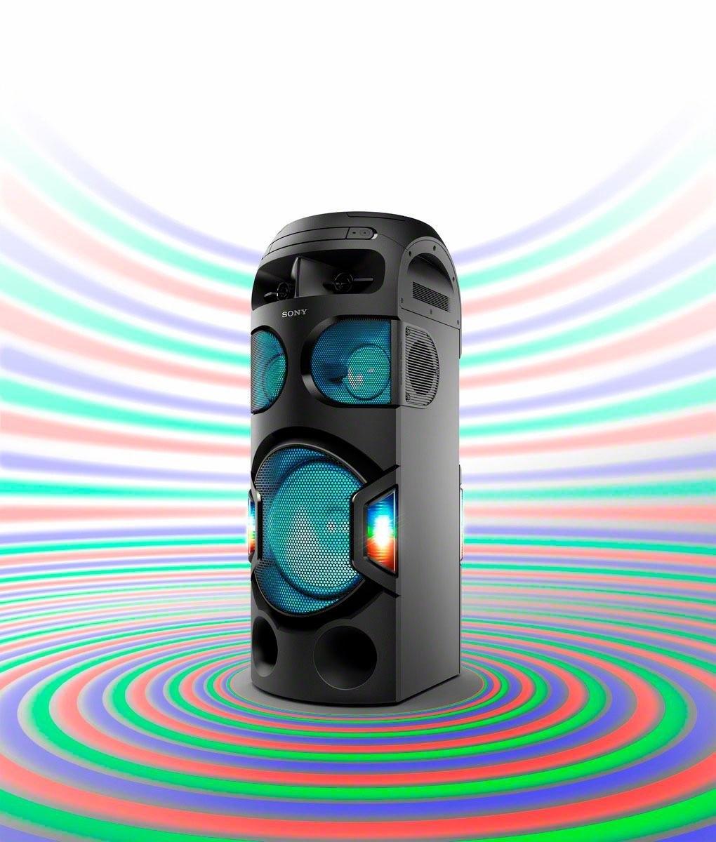 SONY MHC-V71D high power one box music system met 360º verlichting nu online bestellen