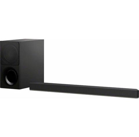 Sony HT-XF9000 Soundbar Bluetooth, Dolby Atmos, Incl. draadloze subwoofer, USB Zwart