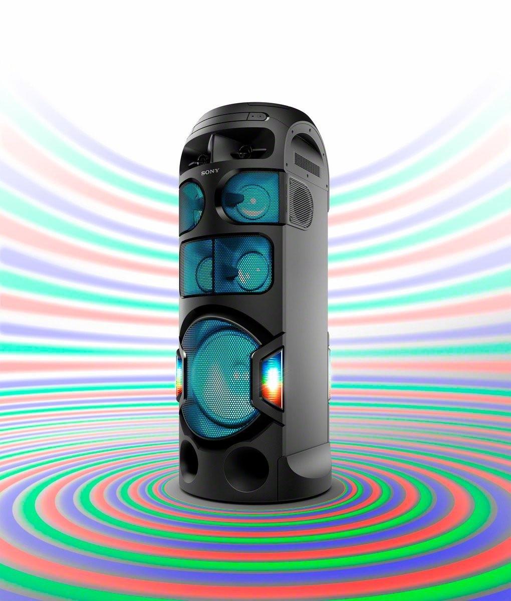SONY MHC-V81D high power one box music system met 360º geluid & verlichting bestellen: 14 dagen bedenktijd