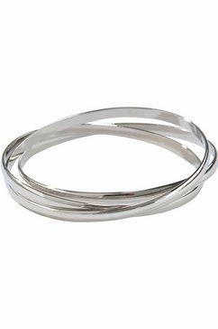 j.jayz armband in elkaar verstrengeld, elegant (1-delig) zilver