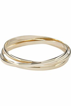 j.jayz armband in elkaar verstrengeld, chic (1-delig) goud
