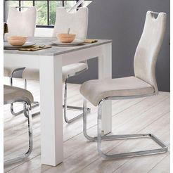 homexperts vrijdragende stoel »zabona« beige