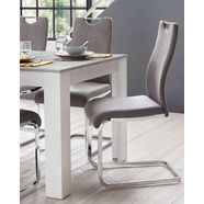 homexperts vrijdragende stoel »zabona« grijs