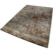 vloerkleed, »rococo vintage«, wecon home, rechthoekig, hoogte 12 mm, machinaal geweven bruin