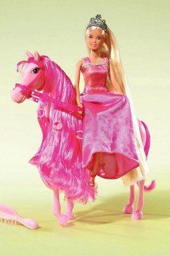 sprookjesprinses met paard, steffi love multicolor