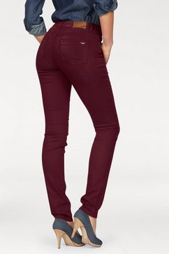 arizona skinny fit jeans shaping high waist rood