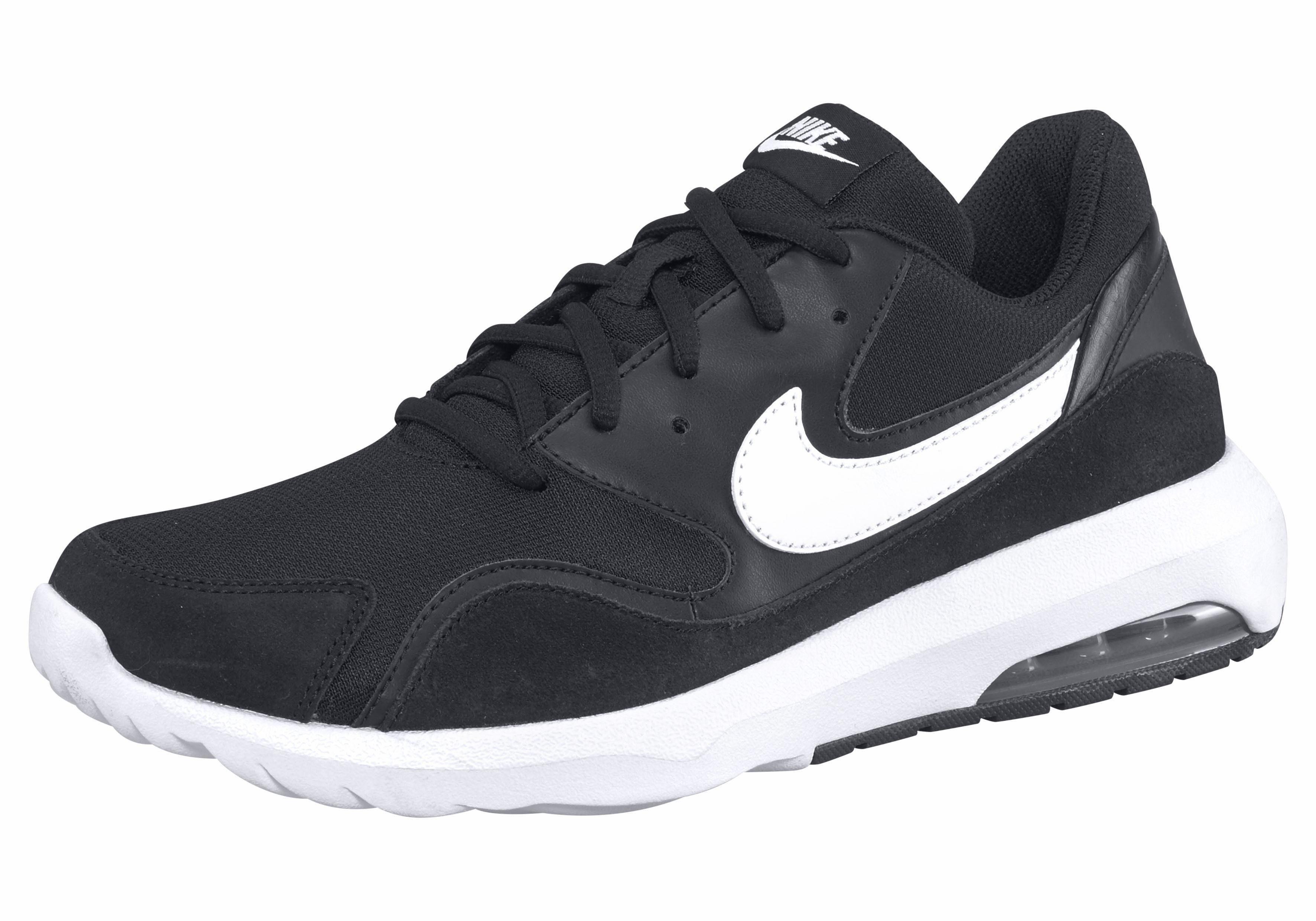 Nike Sneakers Couche Noire Occasionnels « Nostalgique Air Max ' hhxVA6