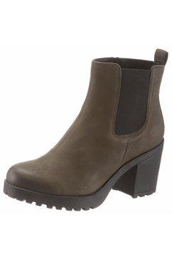 vagabond chelsea-boots groen