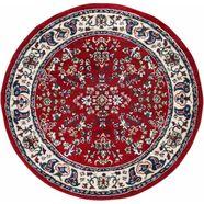 vloerkleed, »orient«, andiamo, rond, hoogte 10 mm, machinaal geweven rood
