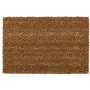 mat, »kokos uni«, andiamo, rechthoekig, hoogte 15 mm, machinaal getuft bruin