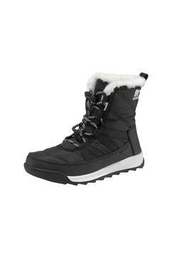 sorel winterlaarzen »youth whitney™ ii short lace« zwart