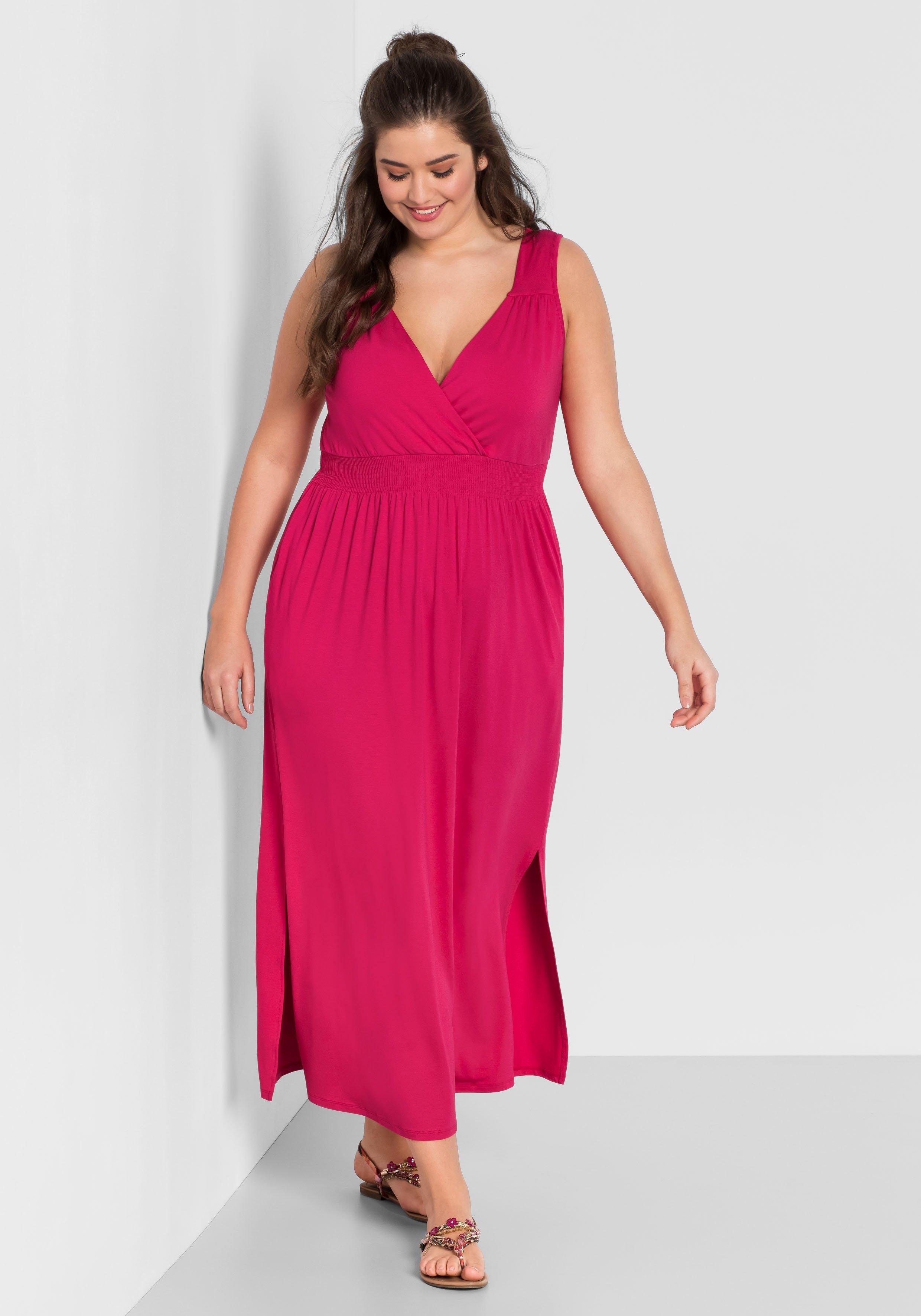 Sheego maxi-jurk nu online kopen bij OTTO