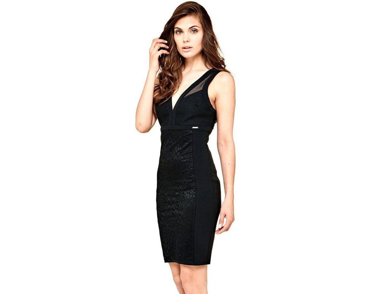 Guess jurk bovendeel van net zwart