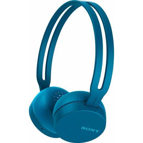 SONY Sony WH-CH400 on-ear-hoofdtelefoon (bluetooth, NFC, ingebouwde microfoon)