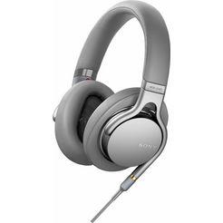 sony »mdr-1am2« over-ear-hoofdtelefoon (via een vaste verbinding, hi-res) zilver