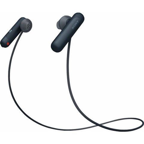 Sony WI-SP500 Sport Oordopjes In Ear Bluetooth Zwart Headset, Nekbeugel, NFC, Bestand tegen zweet