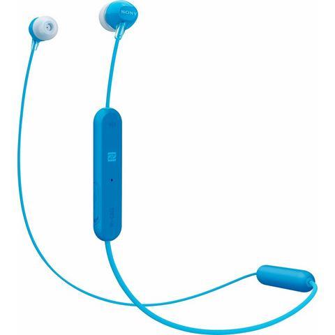 SONY Sony WI-C300 in-ear-hoofdtelefoon (bluetooth, NFC, ingebouwde microfoon)