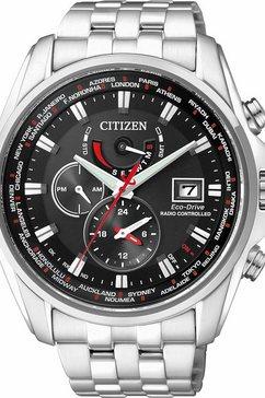 citizen multifunctioneel radiografisch horloge »at9030-55e« zilver