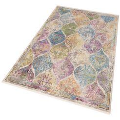 vloerkleed, »colorful 24021«, merinos, rechthoekig, hoogte 7 mm, machinaal geweven multicolor