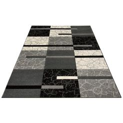 vloerkleed, »lucien«, my home, rechthoekig, hoogte 10 mm, machinaal geweven grijs