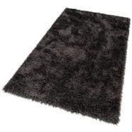 hoogpolig vloerkleed, »glossy 411«, merinos, rechthoekig, hoogte 70 mm, machinaal geweven grijs