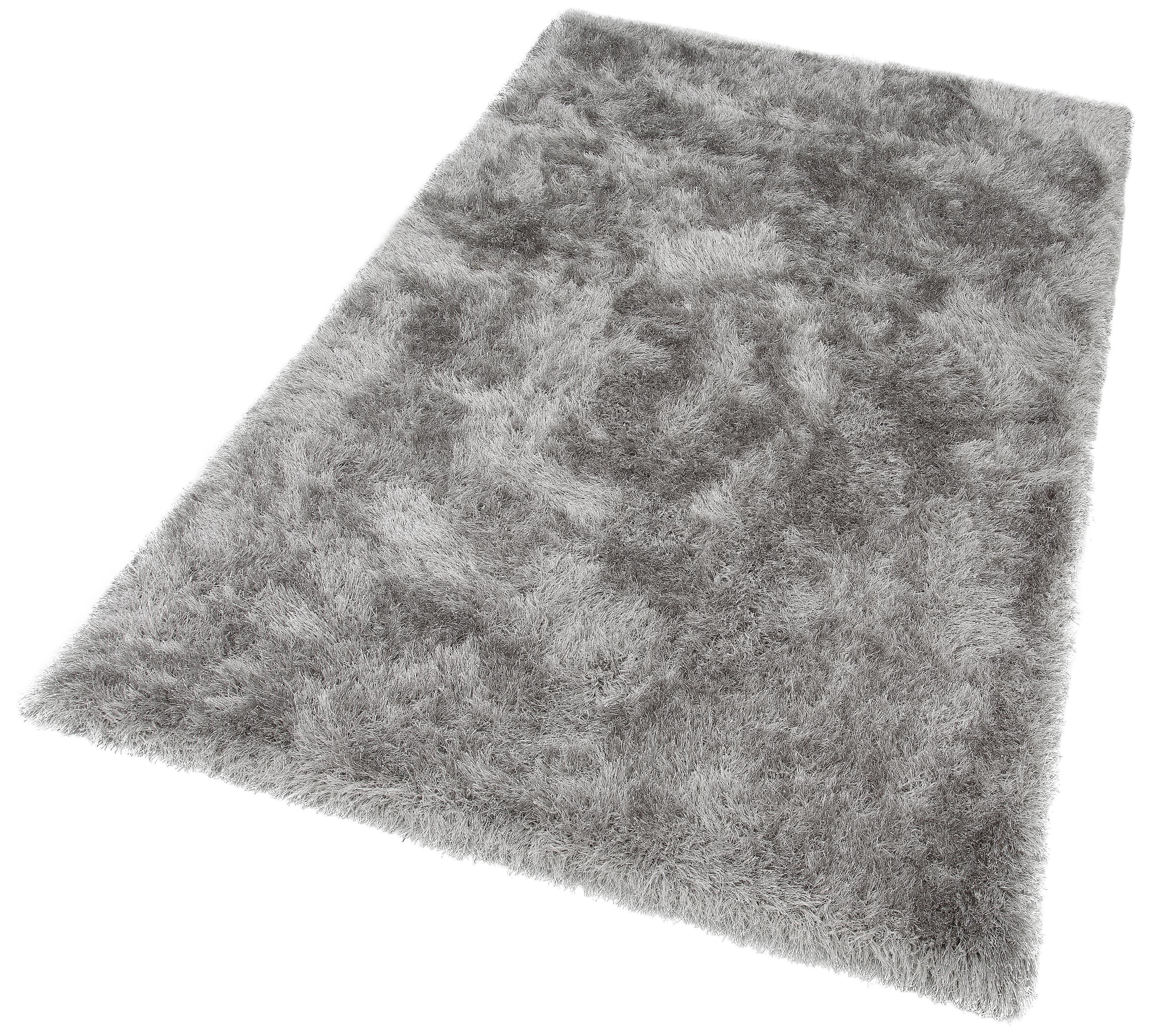 merinos Hoogpolig vloerkleed Glossy 411 bijzonder zacht door microvezel, woonkamer voordelig en veilig online kopen