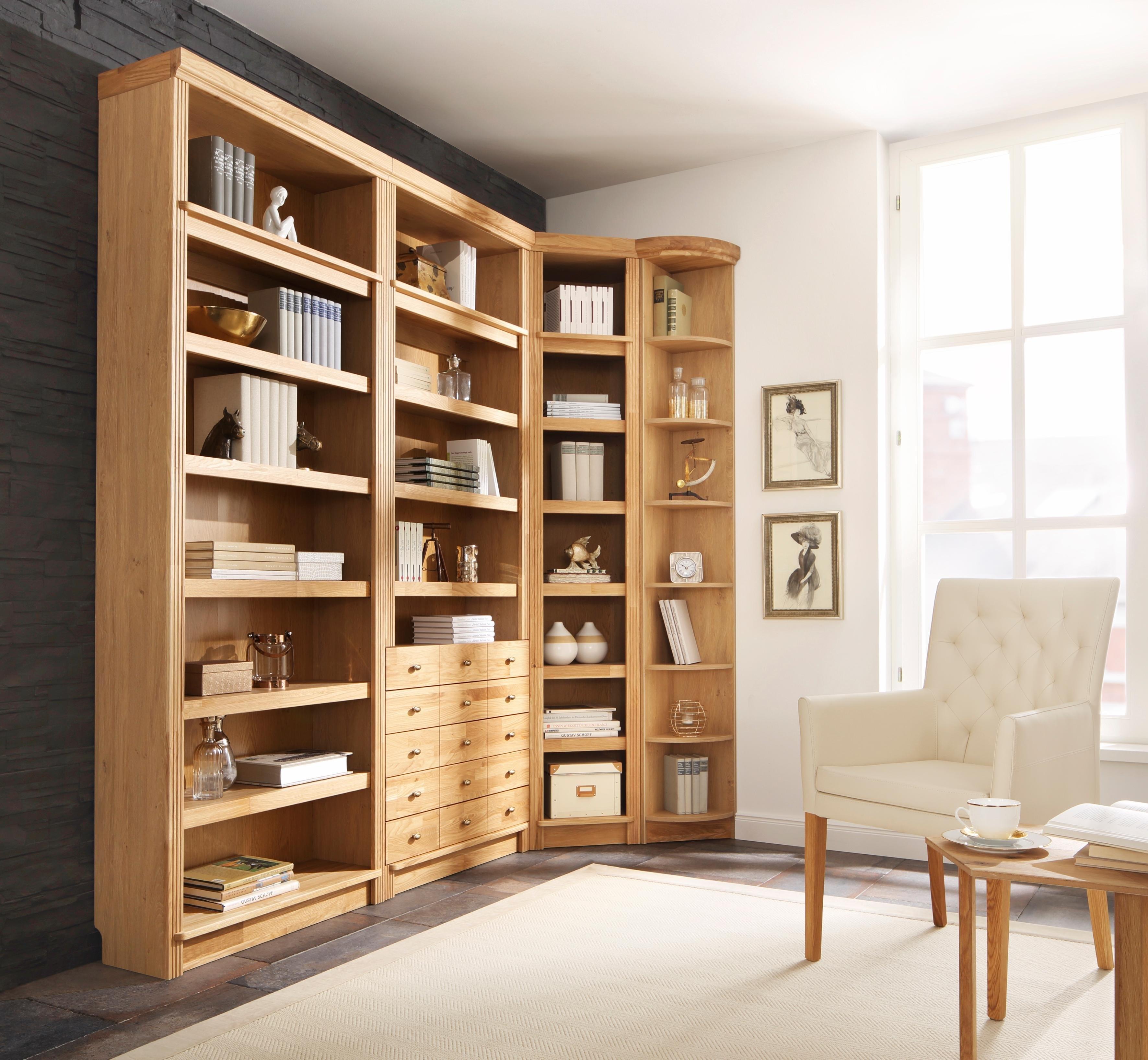 afbeeldingsbron home affaire boekenkast cliff hoogte 220 cm met 7 grote vakken