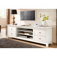 home affaire tv-meubel »rauna«, breedte 200 cm wit