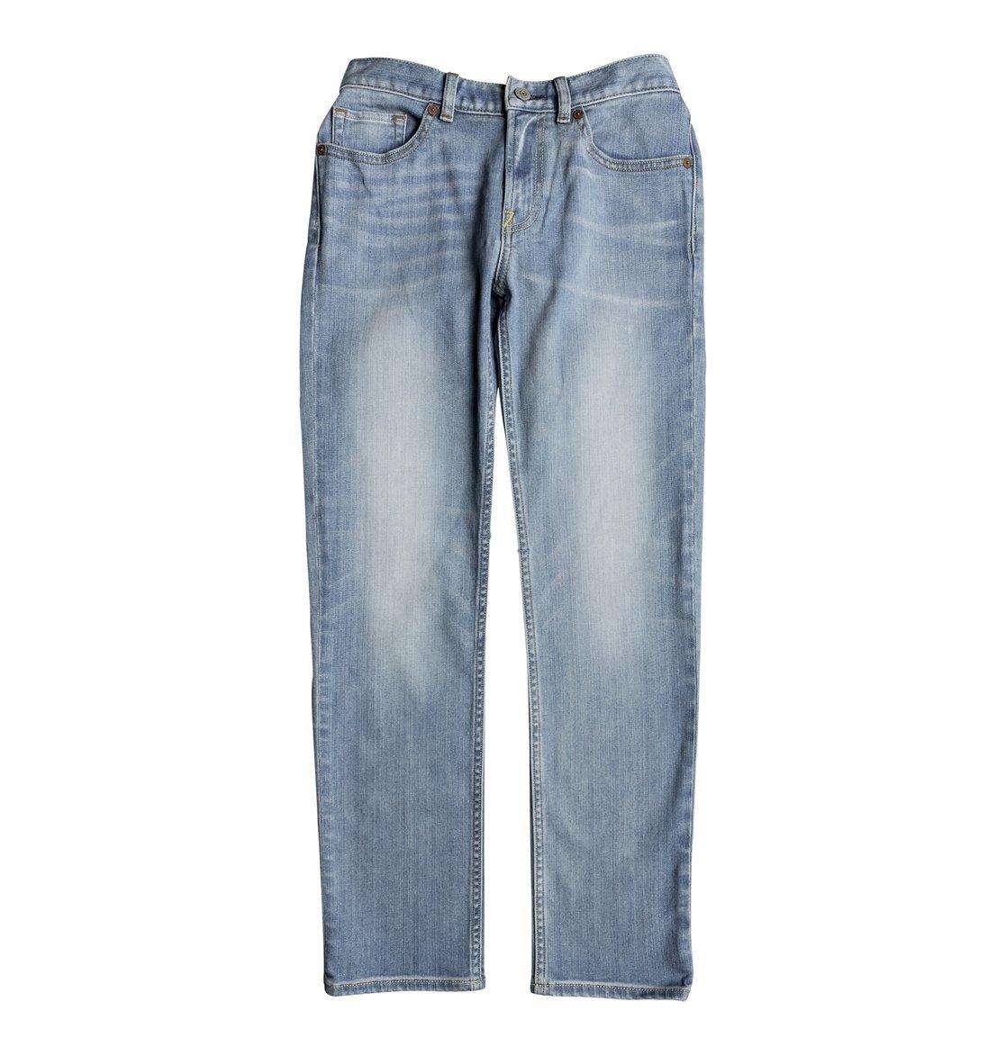 Dc Shoes Rechte Jeans »Worker Light Indigo Blue« - verschillende betaalmethodes