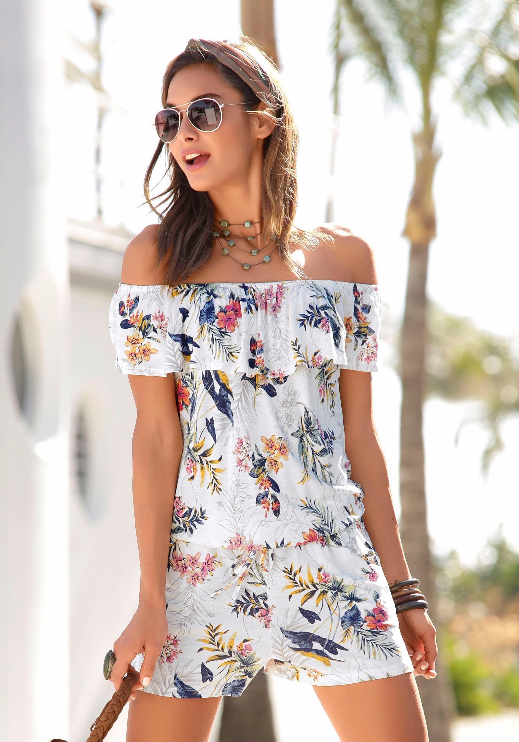 s.Oliver Beachwear s.Oliver RED LABEL Beachwear jumpsuit nu online kopen bij OTTO