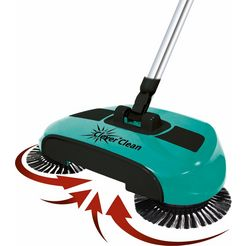 teleshop reiniger voor harde vloeren bezem groen