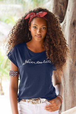 beachtime t-shirt blauw