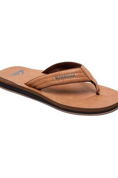 quiksilver sandalen »carver nubuck« bruin