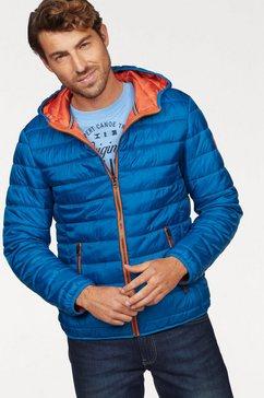 rhode island gewatteerde jas blauw