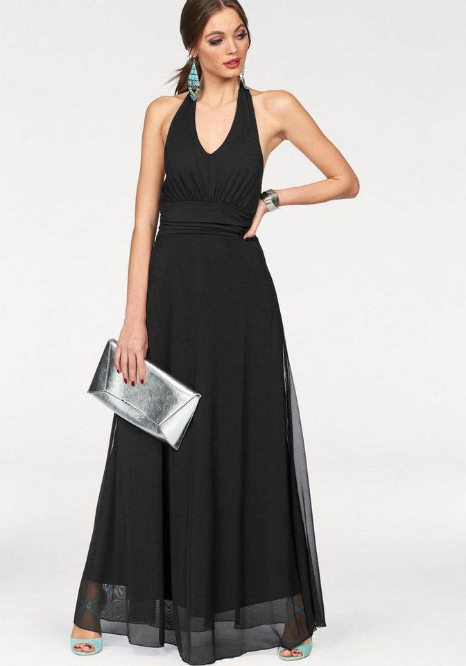 Melrose maxi-jurk zwart