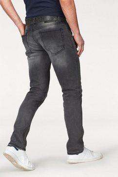 bruno banani straight jeans »hutch« grijs