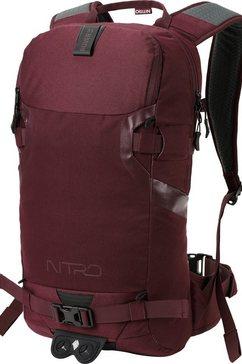 nitro trekkingrugzak rood