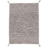 carpetfine wollen kleed »kelim azizi«, carpetfine, rechthoekig, hoogte 5 mm, handgeweven beige