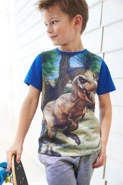 kidsworld t-shirt »dinosaurier« blauw