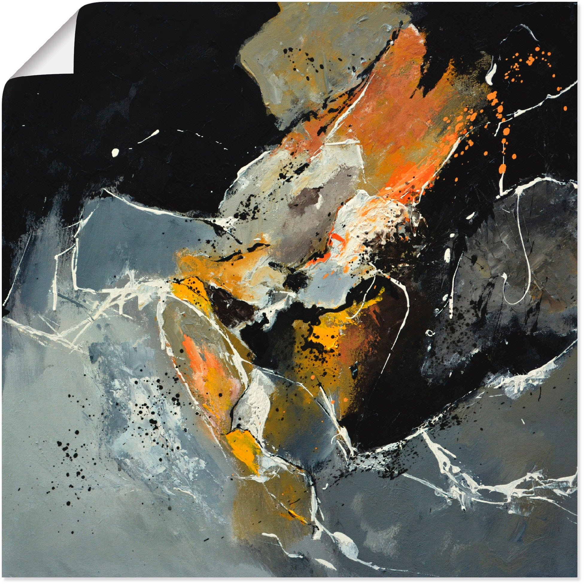 Op zoek naar een Artland artprint Abstract XV in vele afmetingen & productsoorten - artprint van aluminium / artprint voor buiten, artprint op linnen, poster, muursticker / wandfolie ook geschikt voor de badkamer (1 stuk)? Koop online bij OTTO