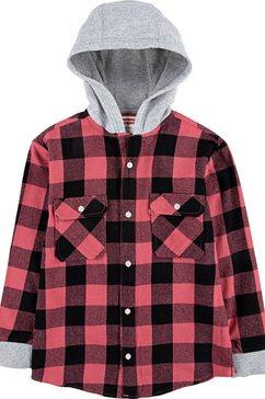 levi's kidswear geruit overhemd rood