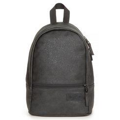 eastpak laptoprugzak »lucia m super fashion glitter dark« zwart