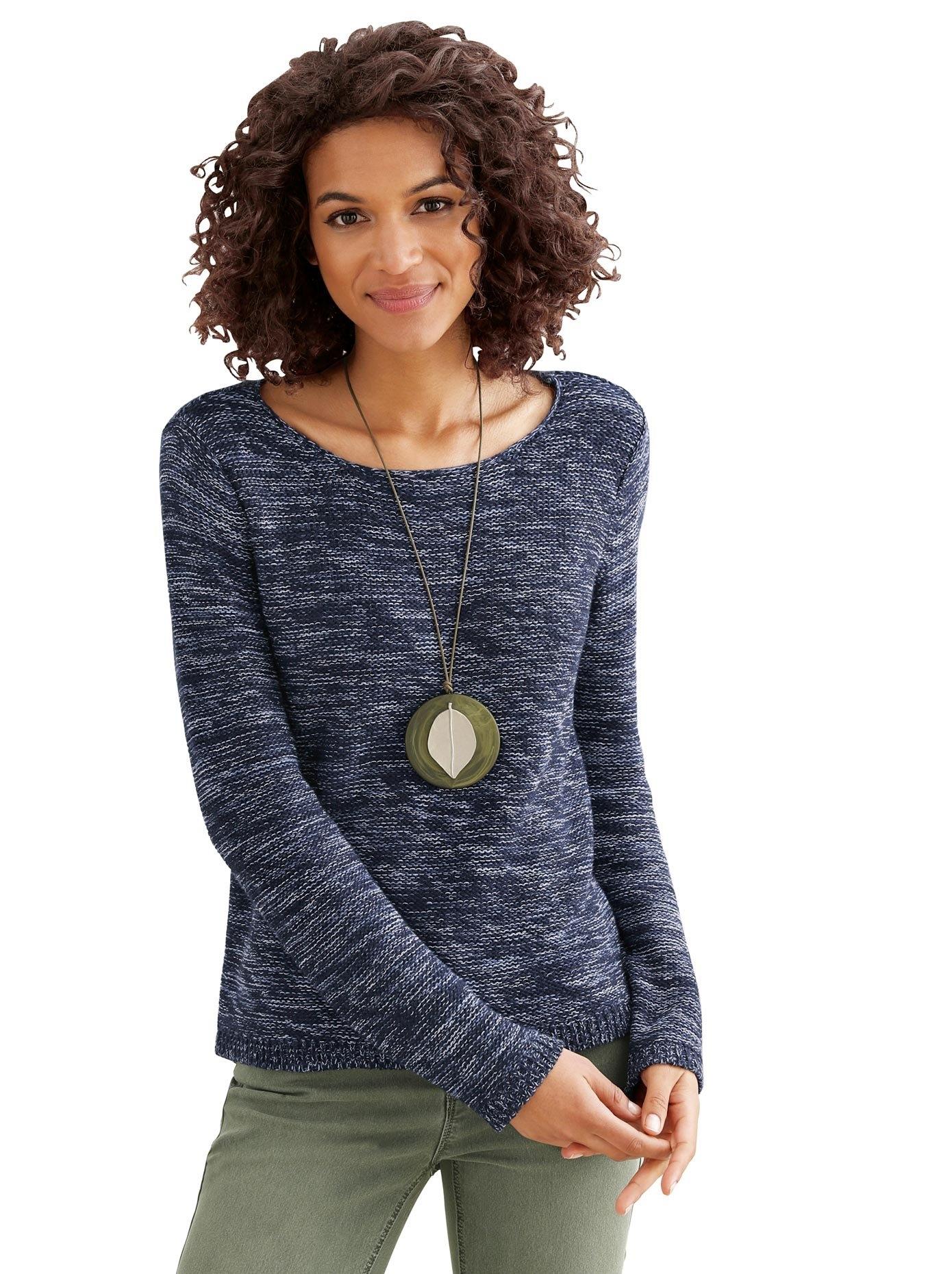 Casual Looks trui met ronde hals Trui in de webshop van OTTO kopen