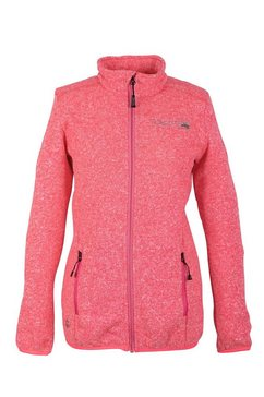 deproc active fleecejack »wildwood women« roze
