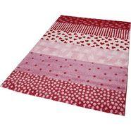 vloerkleed voor de kinderkamer, »canon«, sigikid, rechthoekig, hoogte 13 mm, machinaal geweven roze