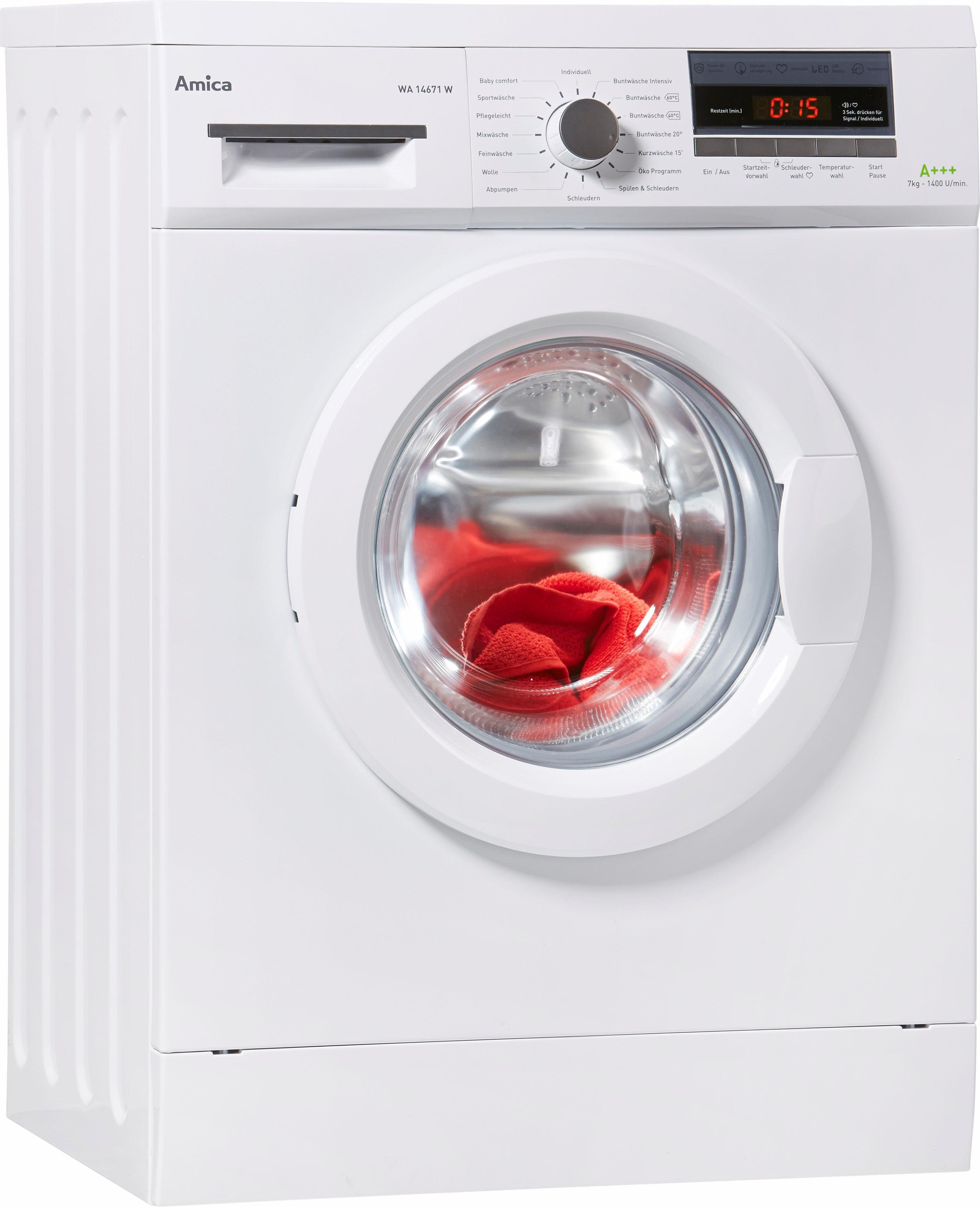 Amica wasmachine WA 14671 W bij OTTO online kopen