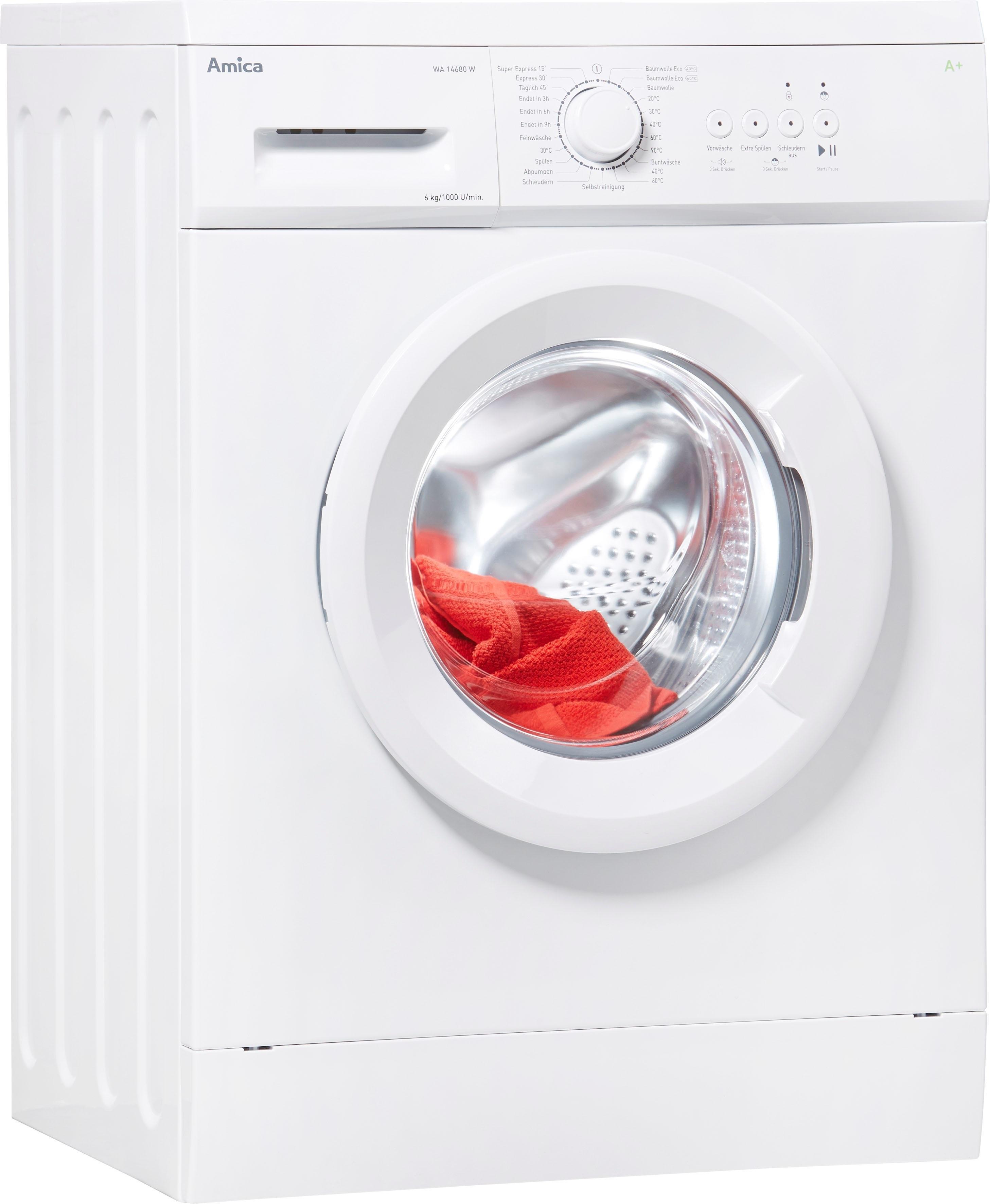 Amica wasmachine WA 14680 W - gratis ruilen op otto.nl